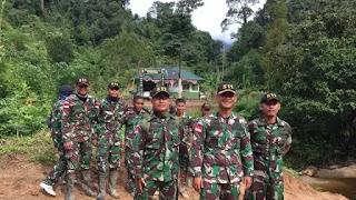 Potret Prajurit TNI Penjaga Perbatasan yang Bikin Bangga