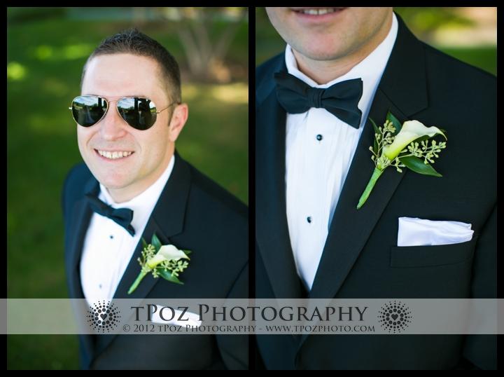 Hillendale Country Club Wedding Bride Groom Portrait