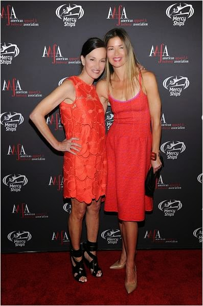 Cynthia Rowley and Jill Hennessey