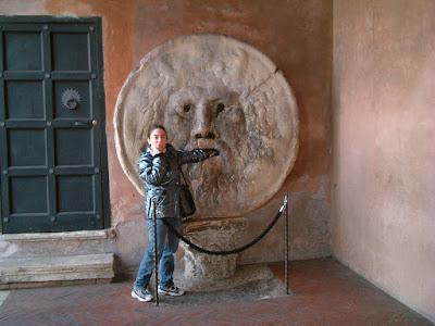 Silvana Calabrese Roma Bocca della Verità