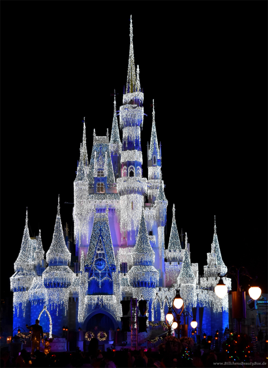 Disney World Orlando Florida - Mickey's Very Merry Christmas Party - Frozen
