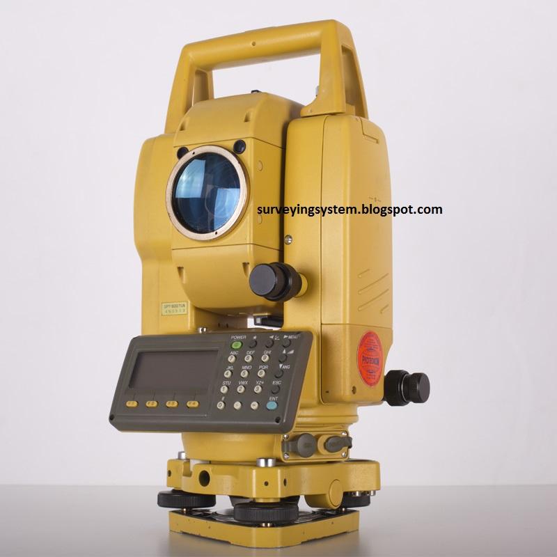 Surveying System Topcon Gpt 3000 Series