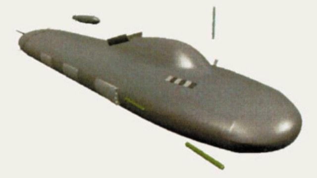 Así podría ser el más avanzado submarino espía de EE.UU.
