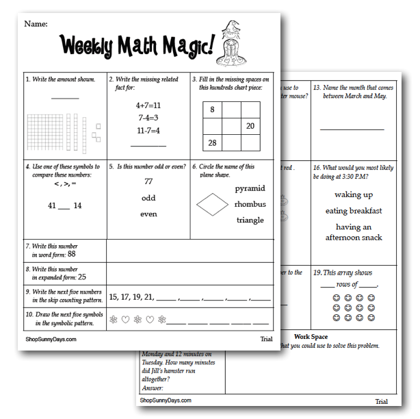 Printables 3rd Grade Math Review Worksheets 3rd grade math review coffemix third spiral worksheets homework