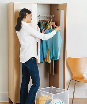 Cara menata Lemari Pakaian