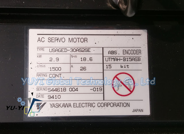 (NEW)YASKAWA USAGED-30AS2SE AC SERVO MOTOR