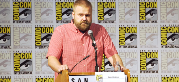 Robert Kirkman, Comic-on pannel