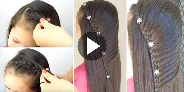 Learn - How To Create Sewn Braid Hairstyle, See Tutorial