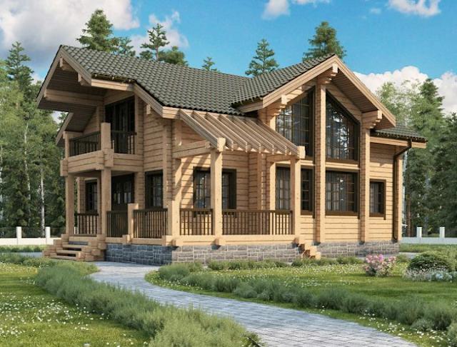 rumah kayu di bali