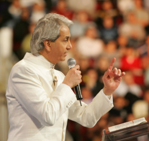 Benny Hinn admits he's guilty of taking the prosperity preaching too far outside what the bible teaches