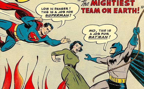 esQUADRINHando: QUANDO BATMAN E SUPERMAN DESCOBRIRAM SUAS IDENTIDADES