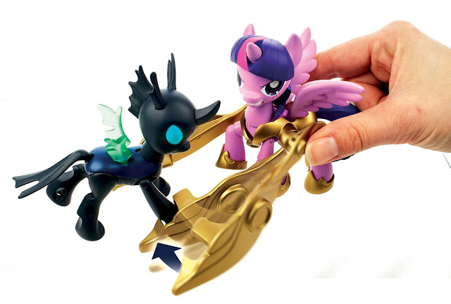 Guardians of Harmony Twilight Sparkle Vs. Changeling Figure MLP