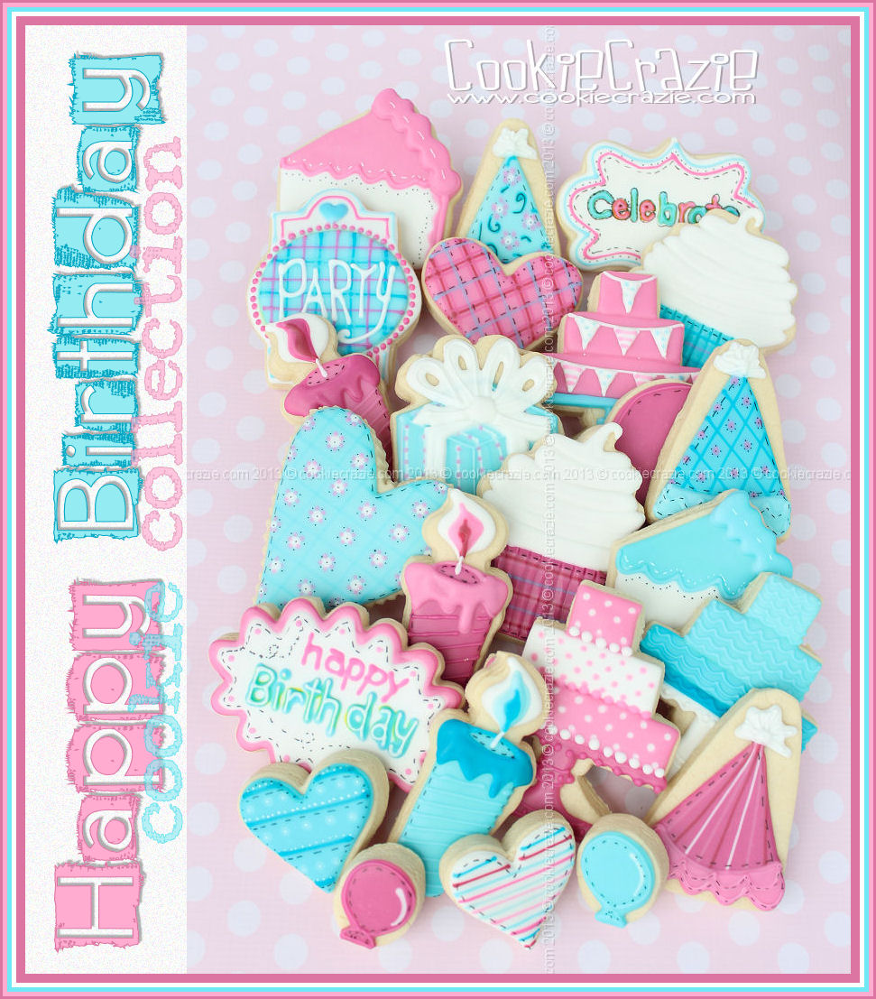 CookieCrazie: Happy Birthday Cookie Collection