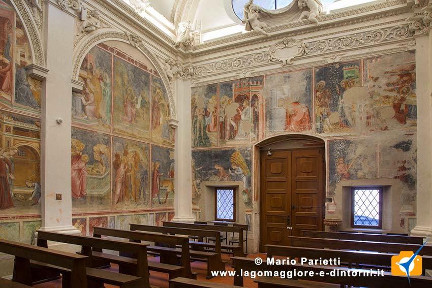 santa Maria dei Ghirli a campione d'Italia, interno