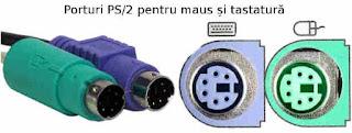 PS/2 este un port serial folosit pentru conectarea unui maus și a unei tastaturi.