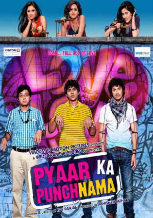 Pyaar Ka Punchnama 2 2015 HDRip 350Mb Hindi 480p Watch Online Full Movie Download bolly4u