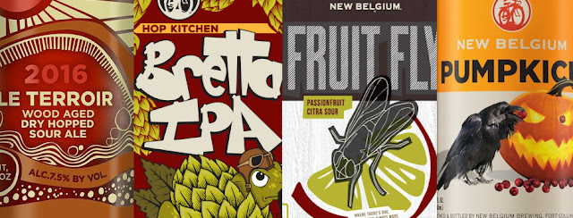 2016 New Belgium Fall Seasonals