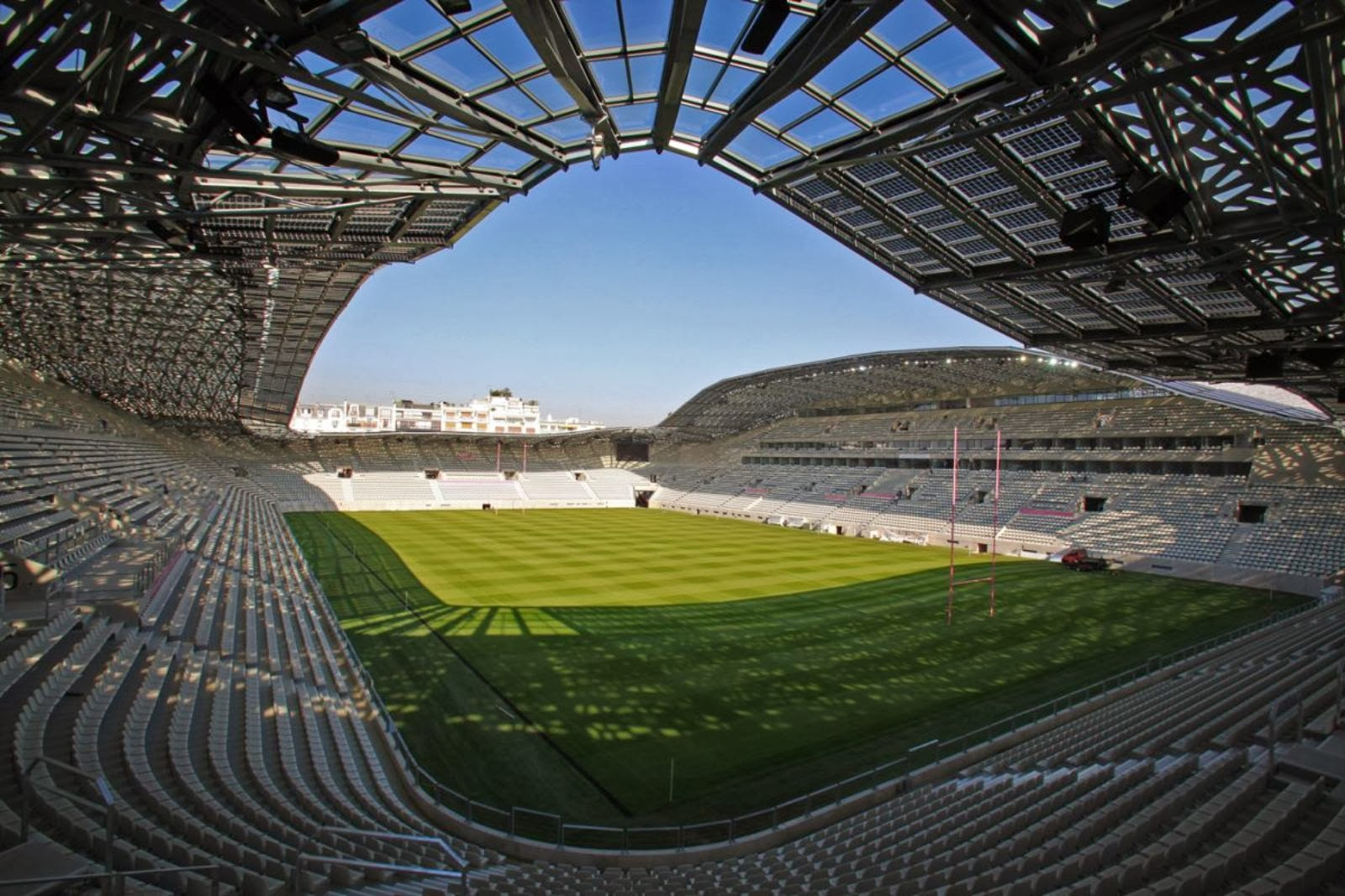 Architekt Stade Architecture Now And The Future Stade Jean Bouin By Rudy Ricciotti