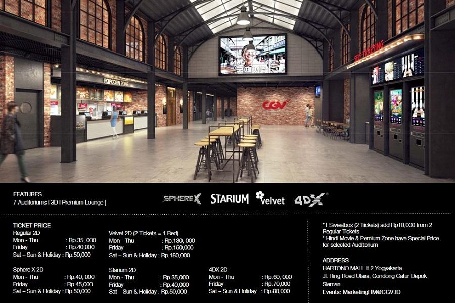 Alamat CGV Cinemas Hartono Mall Yogyakarta