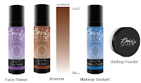 BAIRLY SHEER face primer setting powder bronzer shades makeup sealant