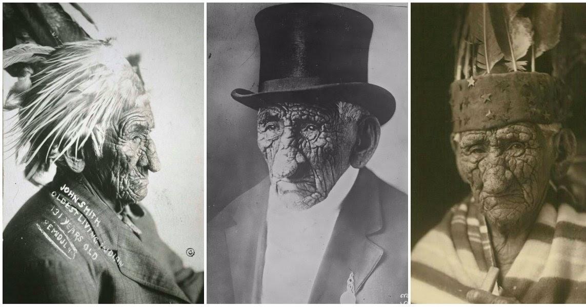 10 Portraits Of White Wolf Aka Chief John Smith The