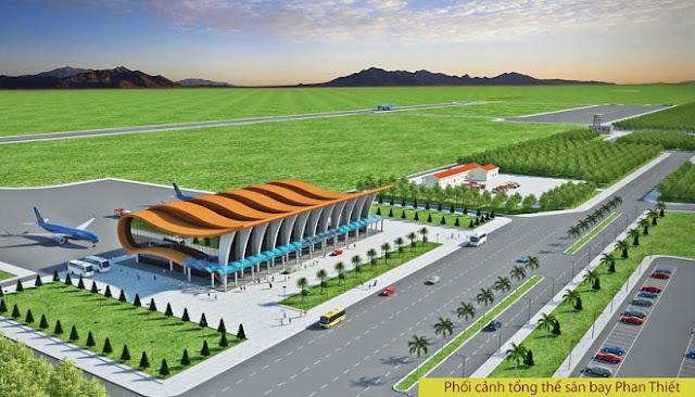 Sân bay Phan Thiết sẽ tạo ra một lợi thế rất lớn cho khu vực