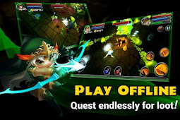Download Dungeon Quest v3.0.4.0 Mod Apk Free Shopping Terbaru 2018