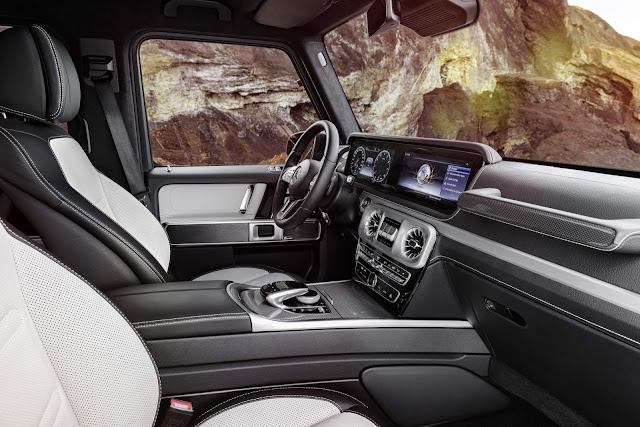 Novo Mercedes Classe G 2019 - interior