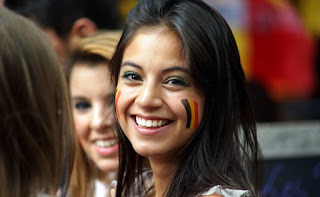 Belgia beautiful fans
