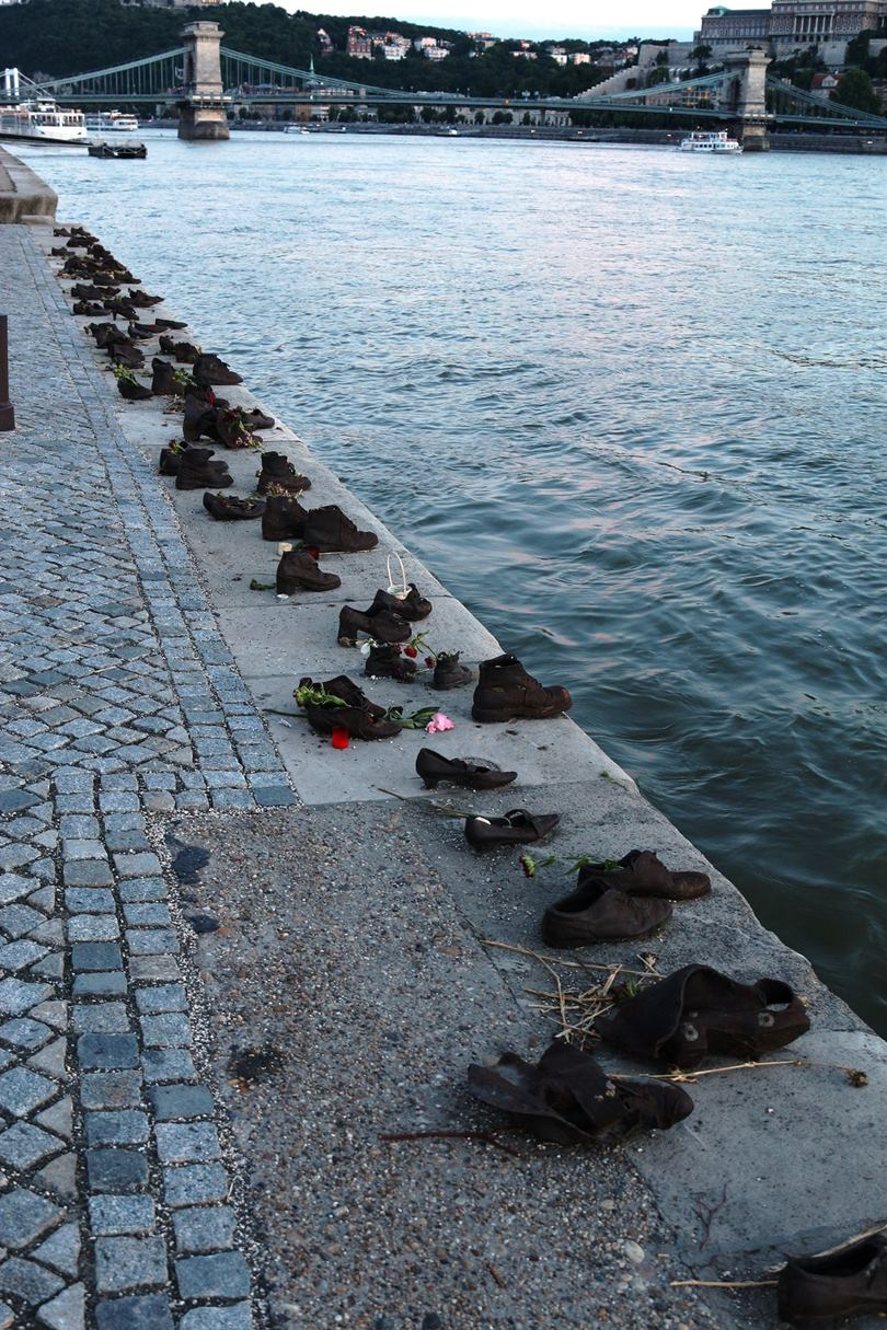 Shoes on the Danube, Budapest Shoes on the Danube Promenade Memorial at the Danube to the victims of the Holocaust,