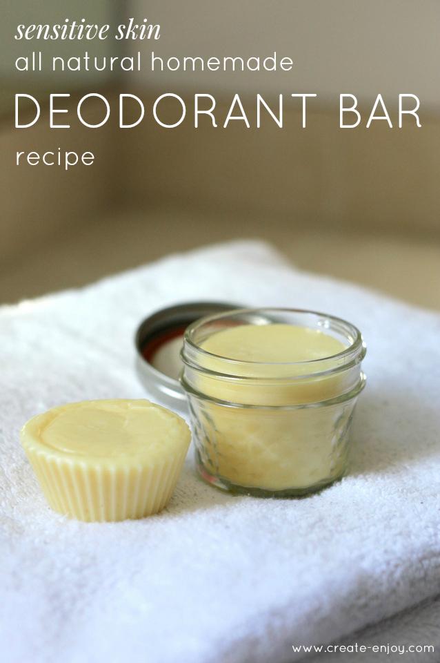 DIY All-Natural, Sensitive Skin Essential Oil Deodorant