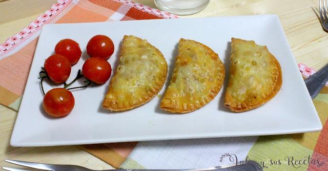 Empanadillas de carne. Julia y sus recetas
