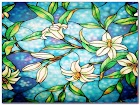 Faux Stained GLASS WINDOW Film Home Depot