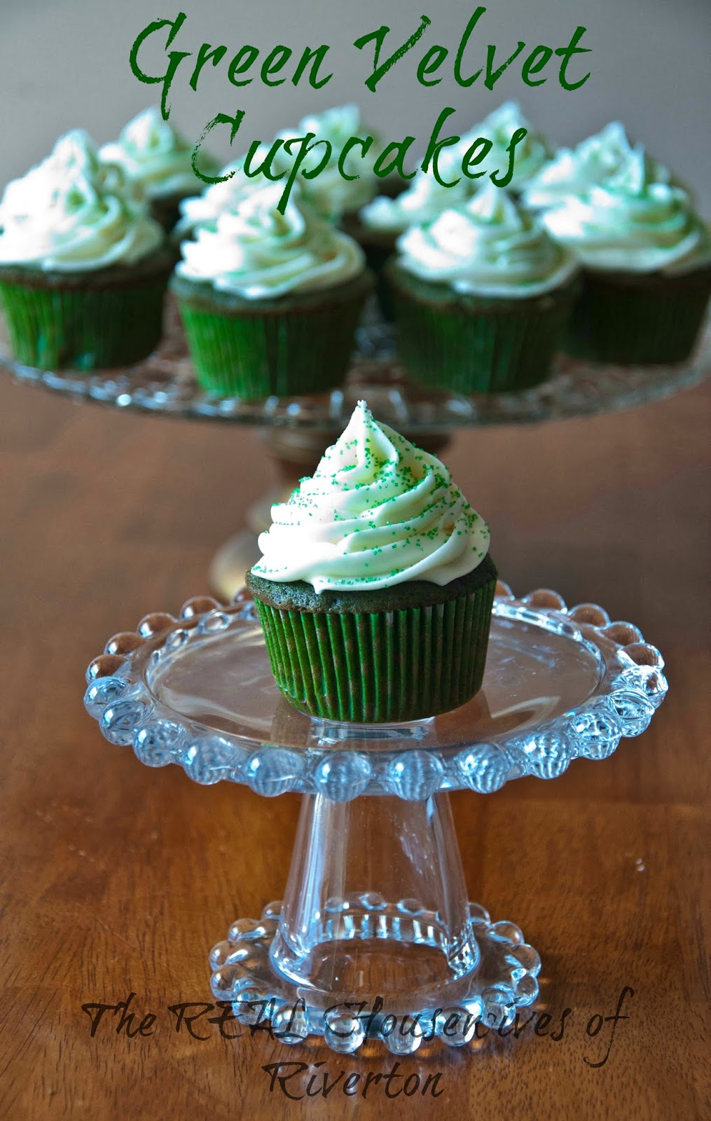 Green Velvet Cupcakes from The Housewives of Riverton