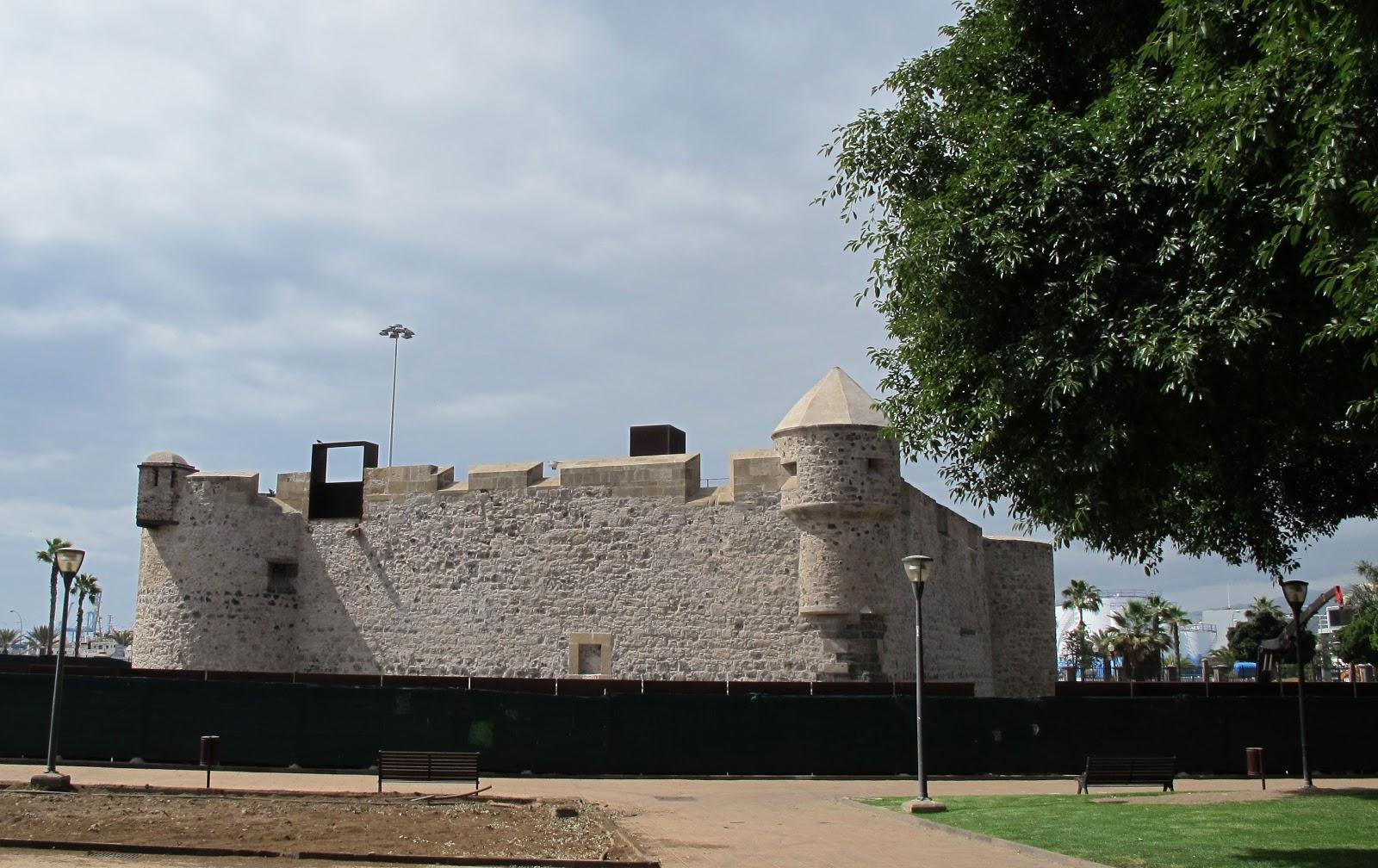 La Finalizacion De Las Obras Del Castillo De La Luz Gran Canaria