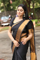 Poorna in Cute Backless Choli Saree Stunning Beauty at Avantika Movie platinum Disc Function ~  Exclusive 098.JPG