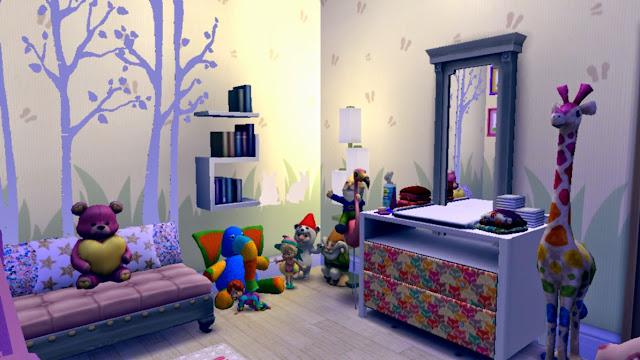 sims 4 nursery,sims 4 kidsroom,sims 4 baby room