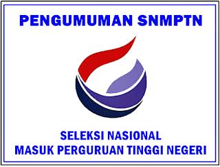 Website Resmi Pengumuman Online SNMPTN  Pengumuman Online SNMPTN 2019/2020