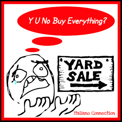 Yard Sale Meme