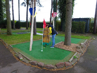Krazy Golf Lydney in the Forest of Dean