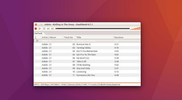 Como instalar o DeadBeeF no Ubuntu, Linux Mint, Elementary OS e Debian derivados!