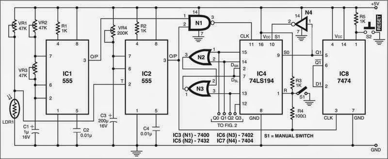 The Circuit Of Light Controlled Fan Register Is Build Around Times Ic