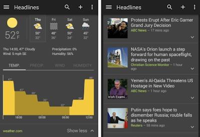 """تطبيق أخبار جوجل يبدأ في تلقي """"الوضع الداكن"""""""