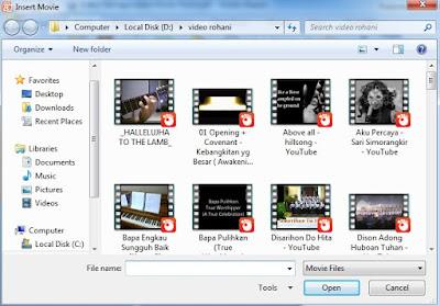 Cara Memasukkan Video Ke Powerpoint (PPT) Dengan Teknik Insert