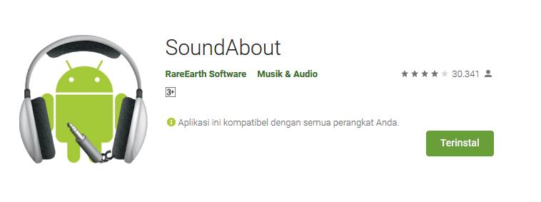 Aplikasi SoundsAbout