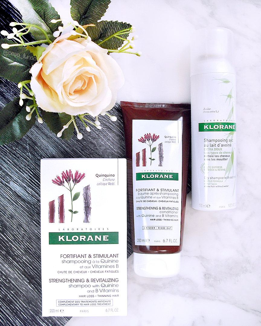 Klorane Shampoo and Conditioner with Quinine and B Vitamins - Klorane Dry Shampoo with oat milk - review pareri