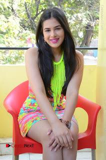 Telugu Actress Prasanna Stills in Short Dress at Inkenti Nuvve Cheppu Press Meet Stills  0151.JPG
