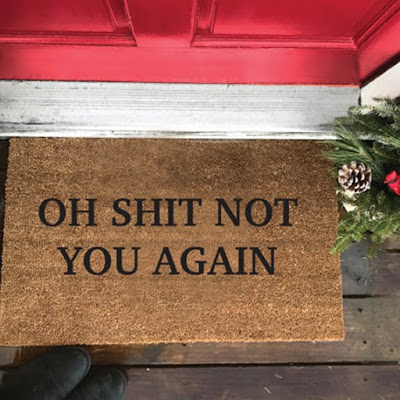 Oh S… Not You Again - Doormat