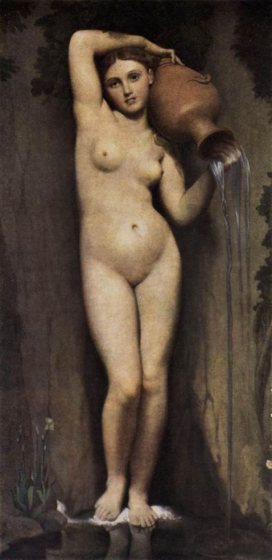 Jean Auguste Dominique Ingres: The Source