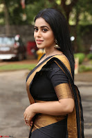 Poorna in Cute Backless Choli Saree Stunning Beauty at Avantika Movie platinum Disc Function ~  Exclusive 070.JPG
